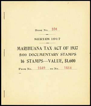 Exhibit B: Marijuana Tax Act of 1937