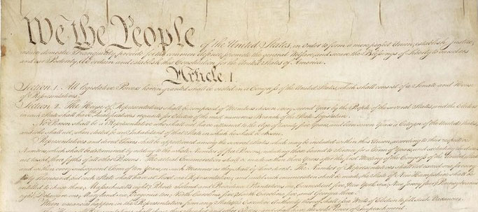 US constitution original